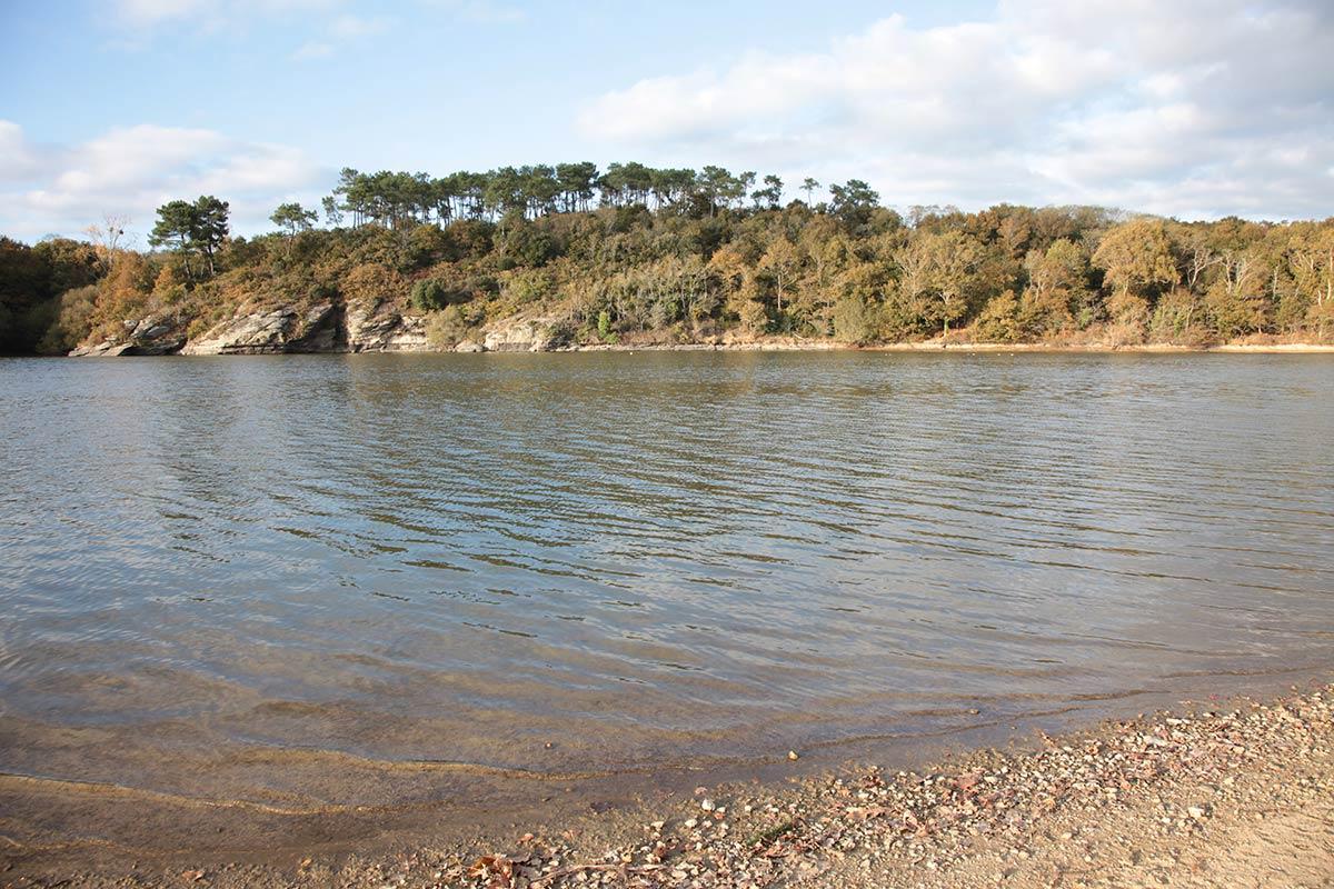 Lac du Jaunay en vendée