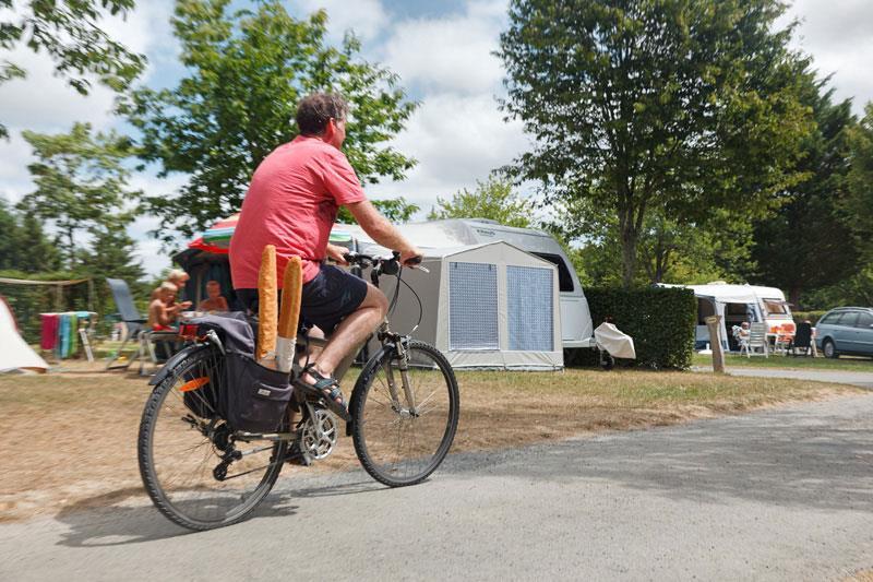 Location de vélo au camping proche des pistes cyclables