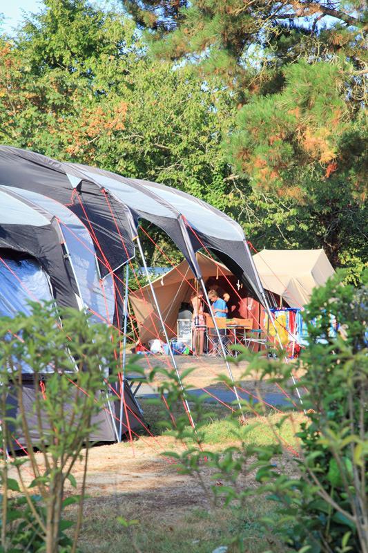 Emplacement Premium vendée pour tente