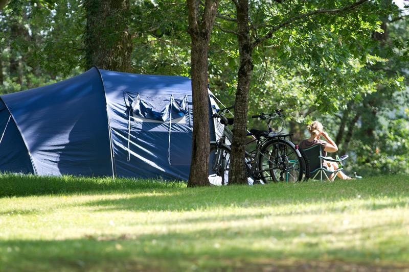 Emplacement simple camping Castel 5 étoiles en Vendée