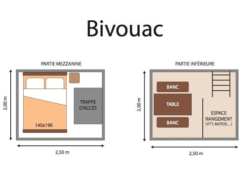 plan Insolite - Bivouac pitch