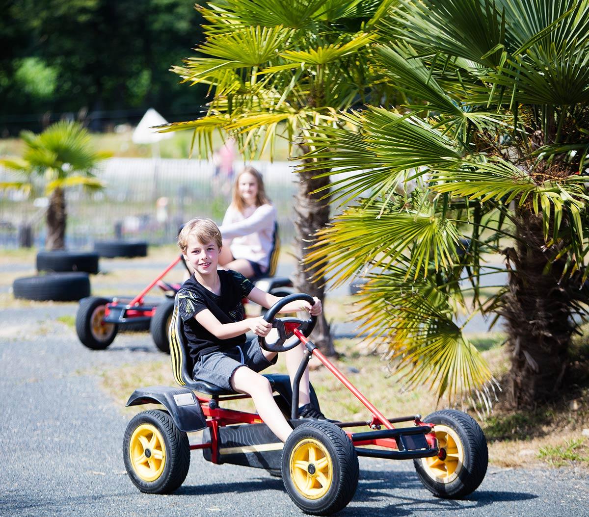 animations la garangeoire camping vendée karting