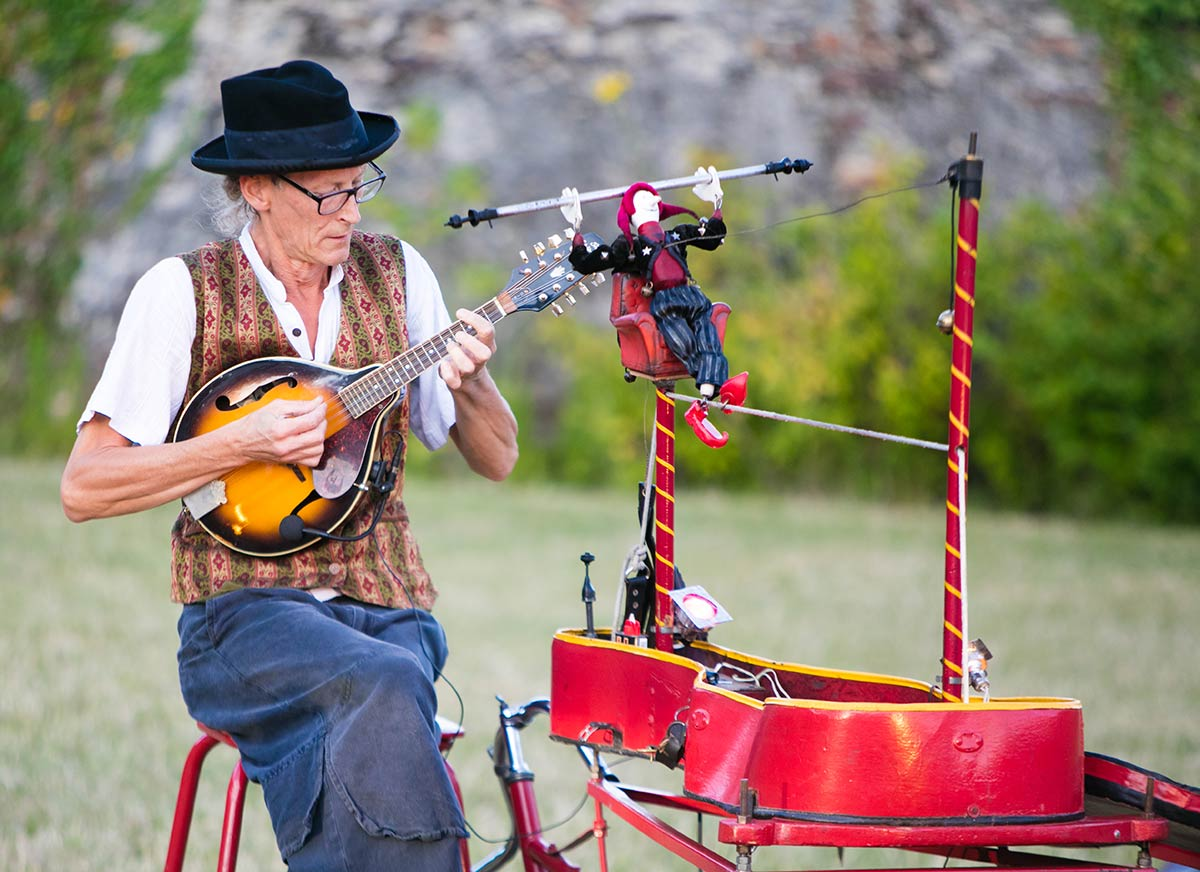 animations la garangeoire camping vendée musicien