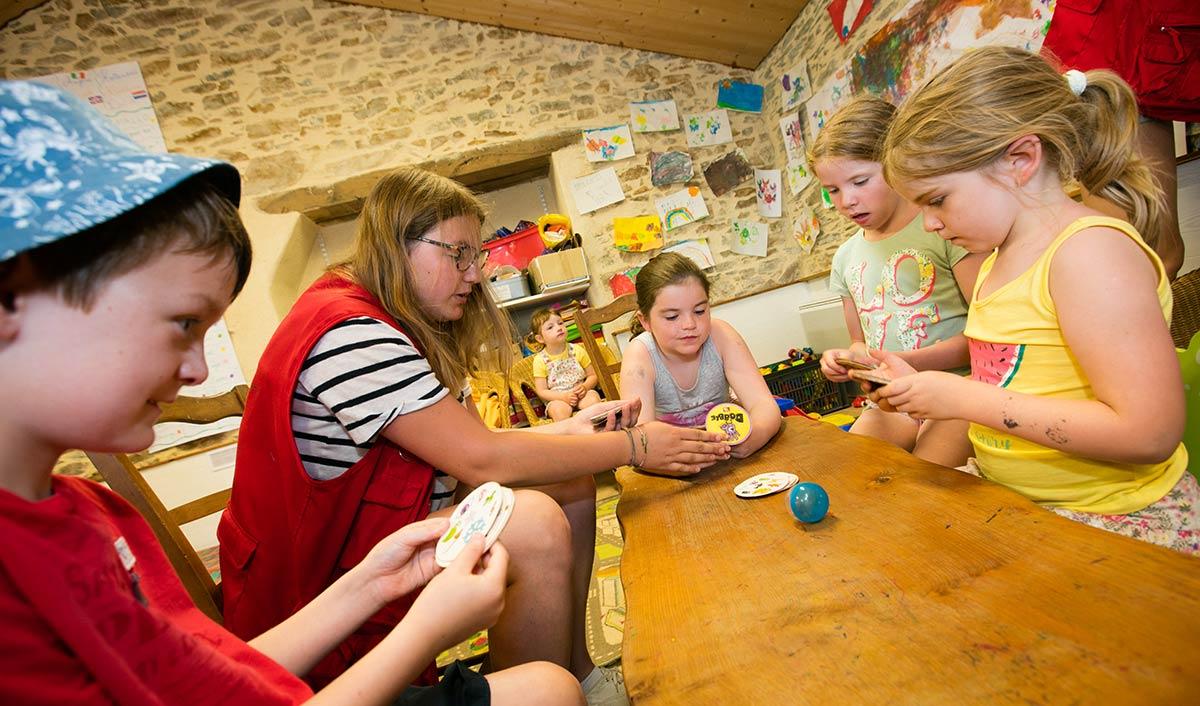 le club enfants du camping Castel 5 étoiles en Vendée