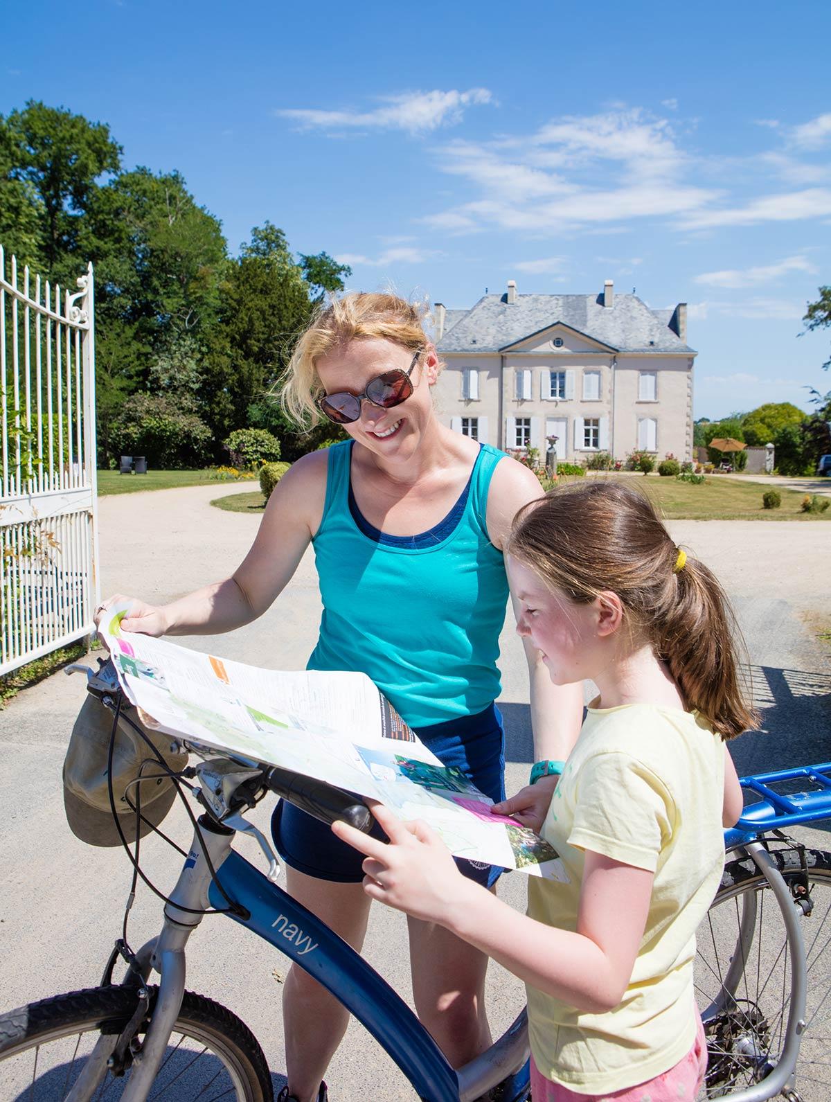 pistes cyclables camping Castel 5 étoiles en Vendée