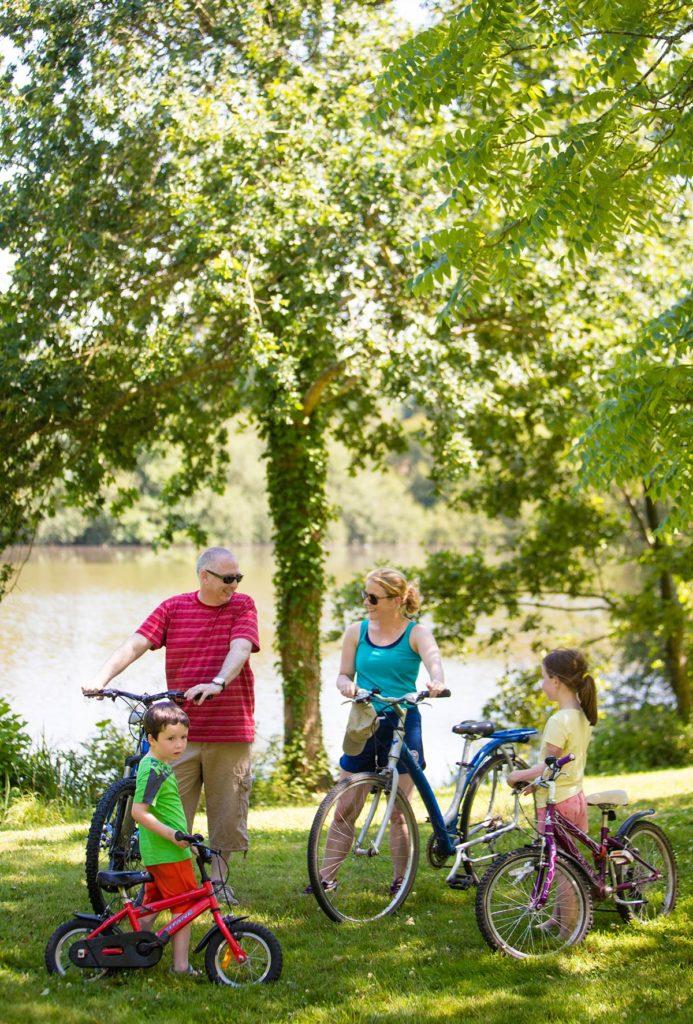 Camping proche des pistes cyclables en Vendée