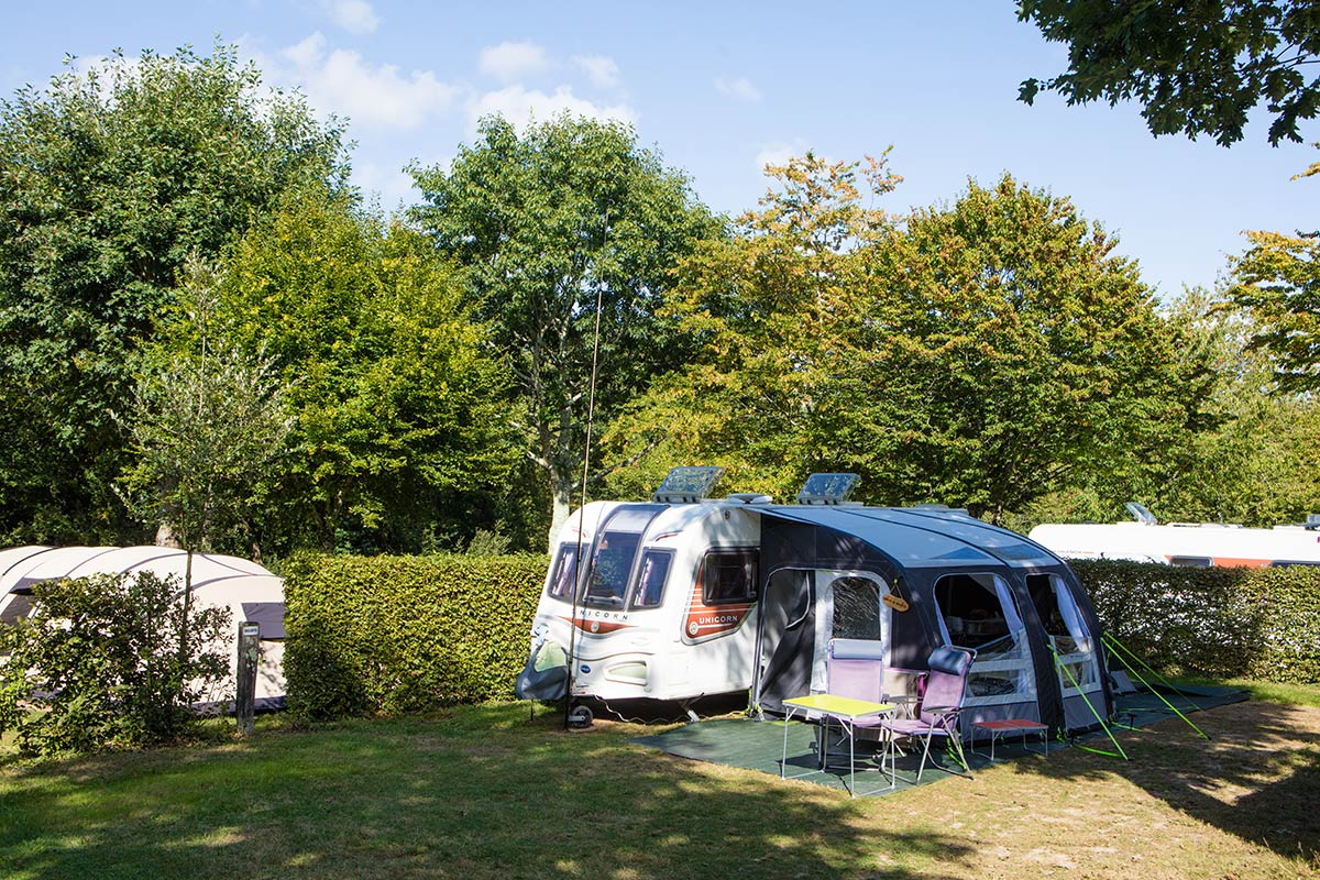 emplacement caravane camping Castel 5 étoiles en Vendée