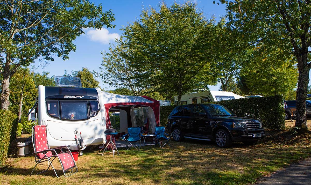 emplacement caravane et tente camping Castel 5 étoiles en Vendée