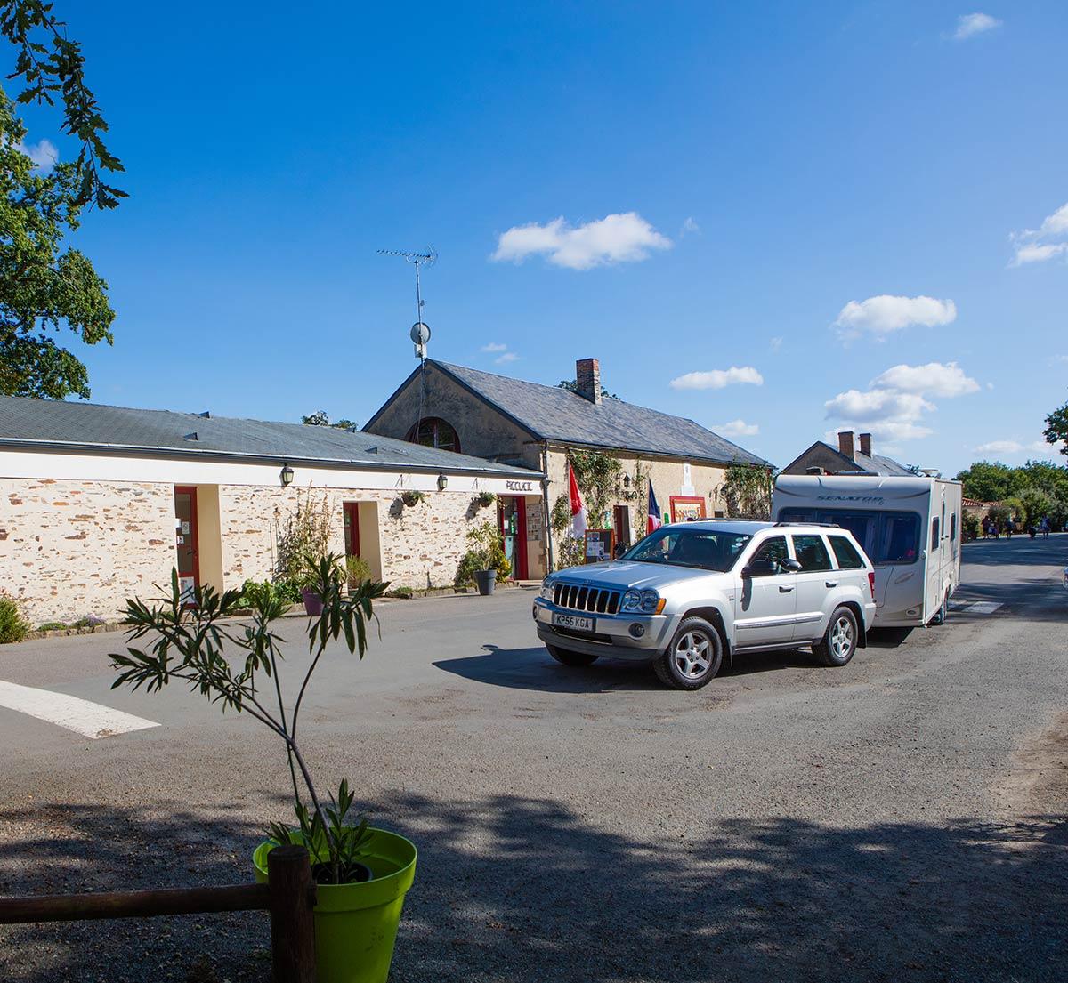 accueil camping Castel 5 étoiles en Vendée