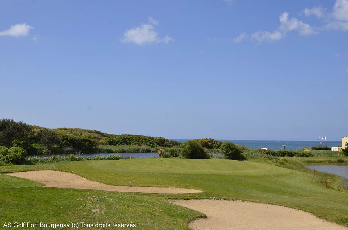 golf olonne sur mer