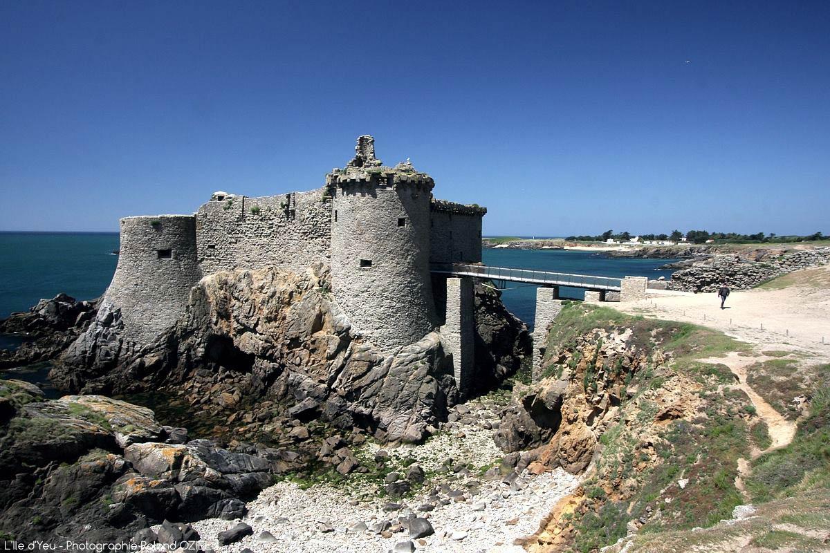 vieux chateau de l'ile d'yeu