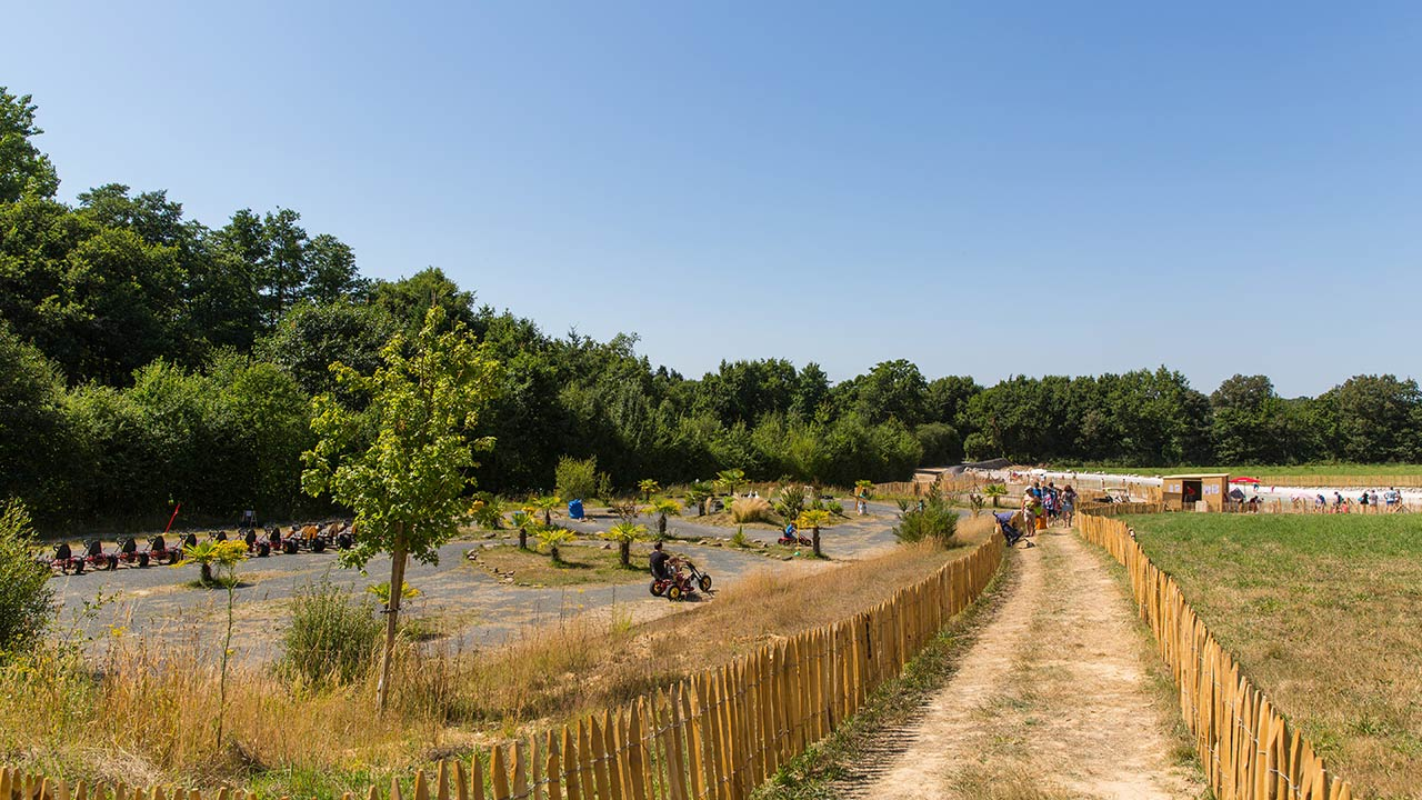 circuit de karting camping Castel 5 étoiles en Vendée