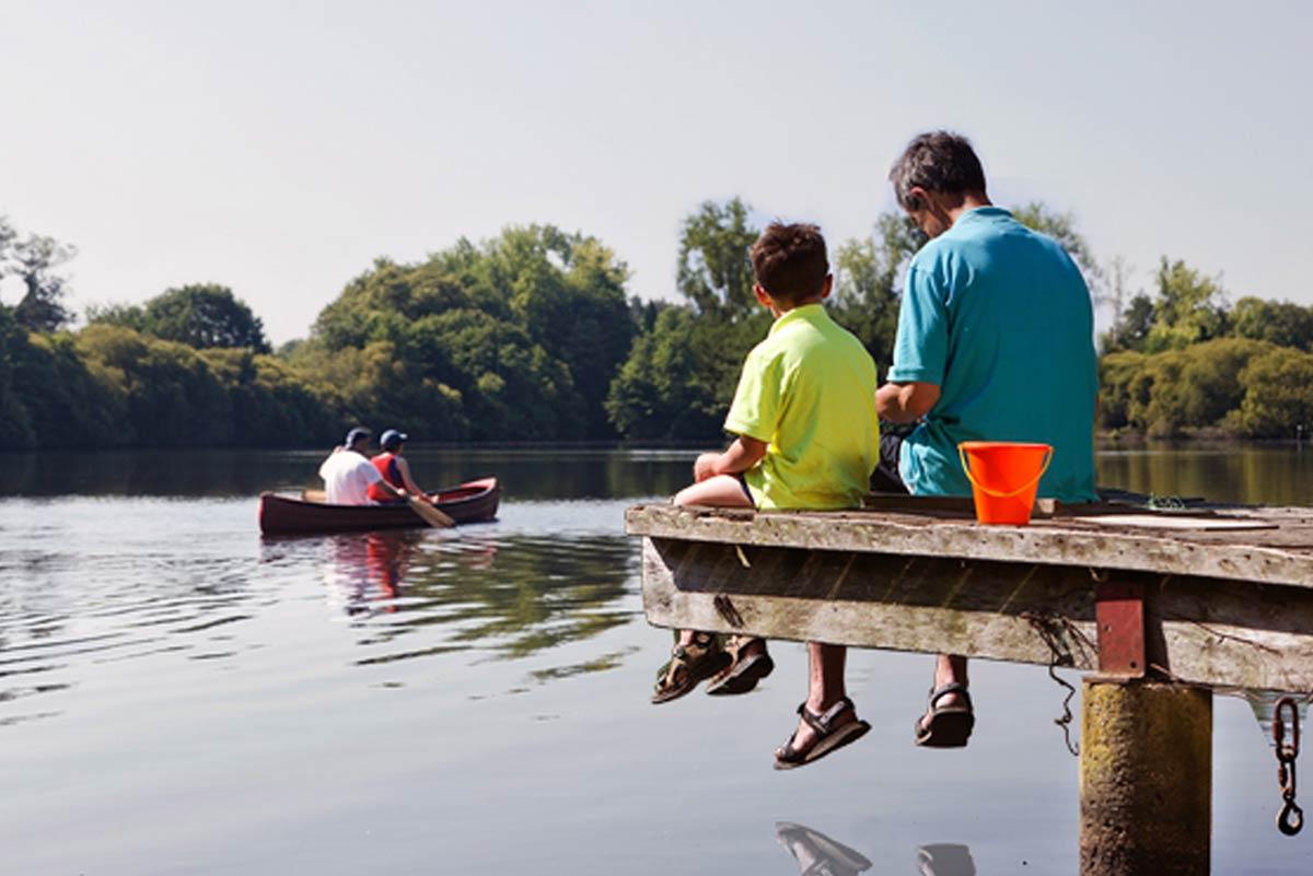 pêche camping Castel 5 étoiles en Vendée