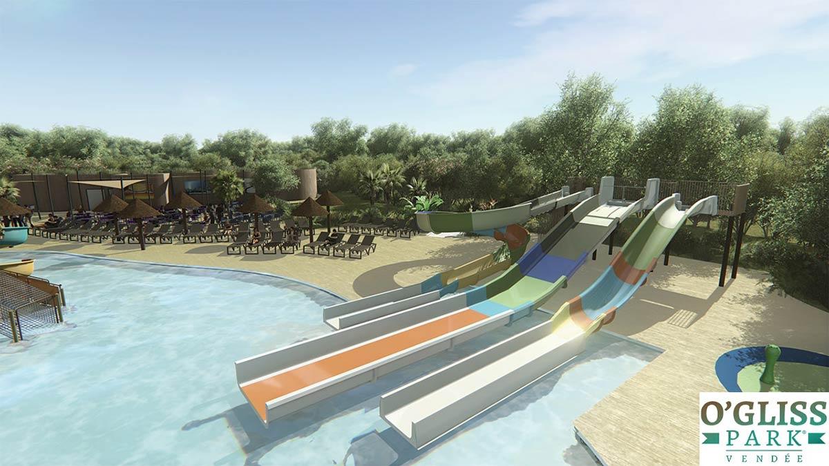O Gliss park toboggans aquatiques