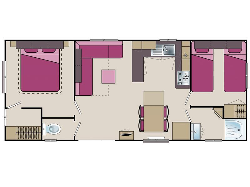 plan Mobil-home Selenia