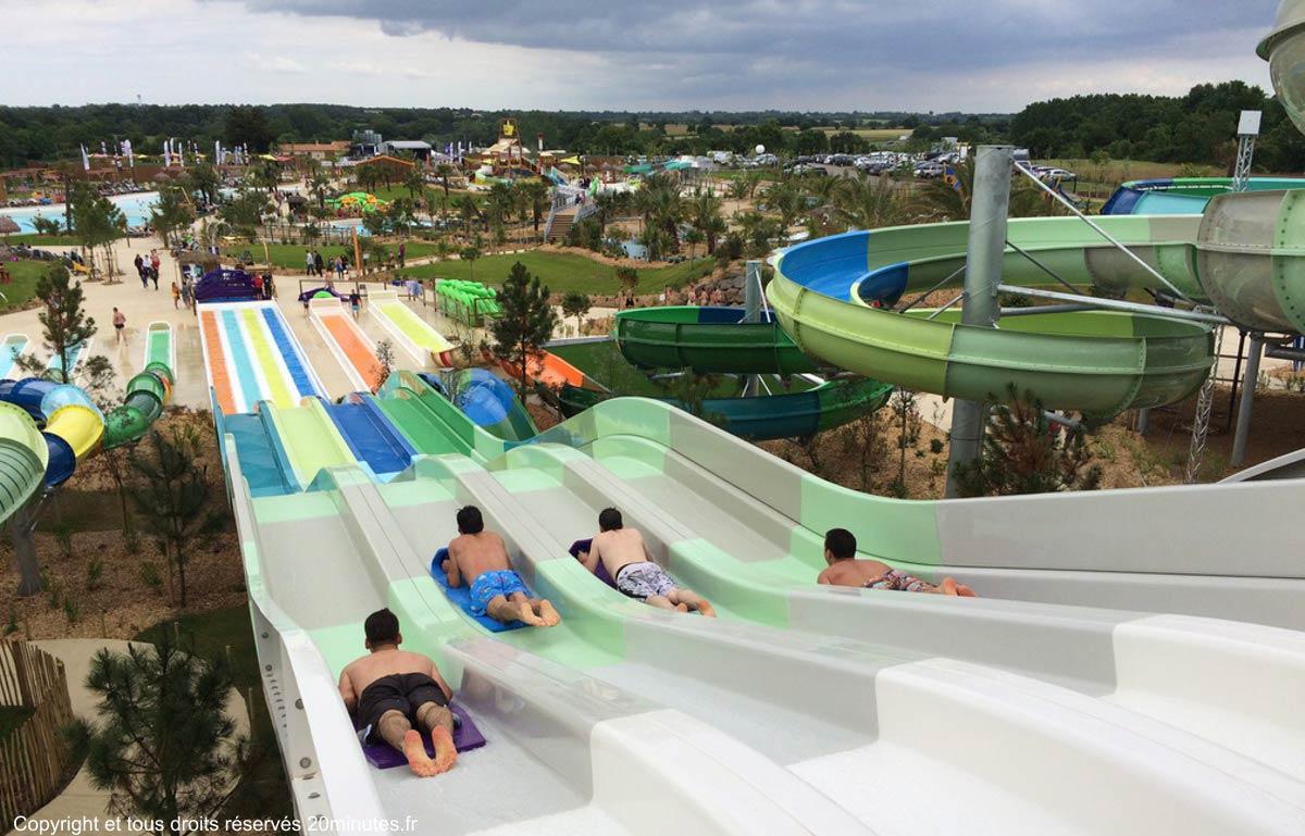 O Gliss park proche camping Castel 5 étoiles en Vendée