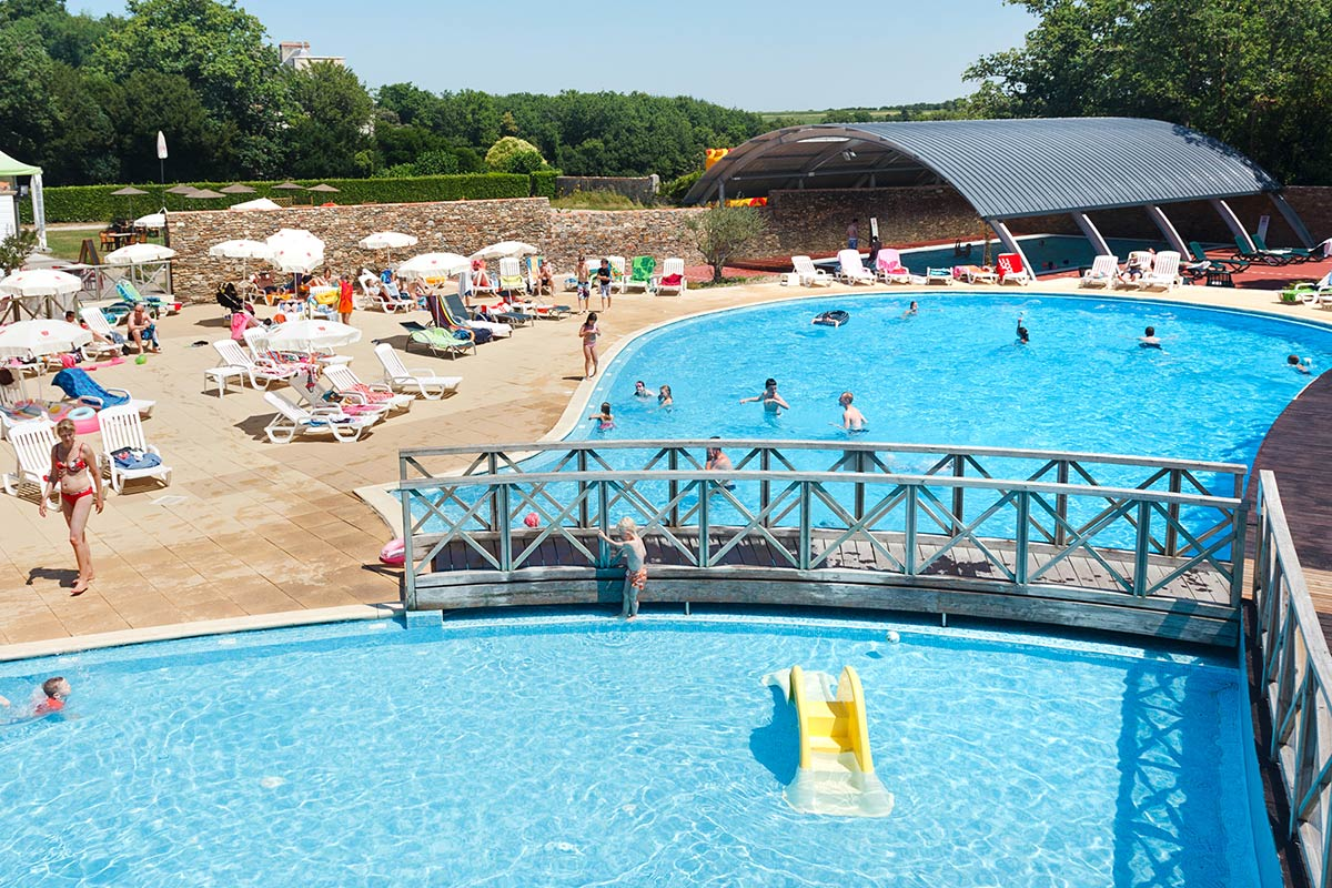 piscine extérieure camping vendée