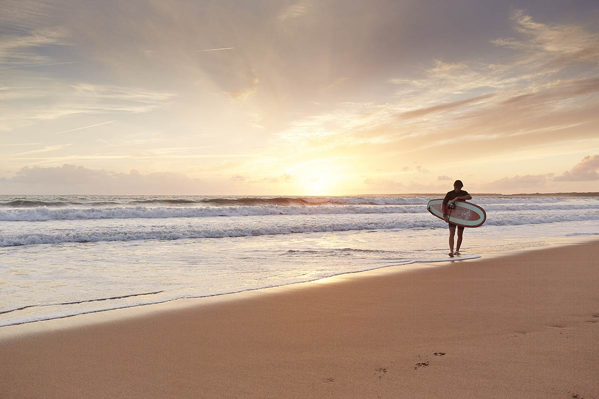 surf vendée près du camping Castel 5 étoiles en Vendée