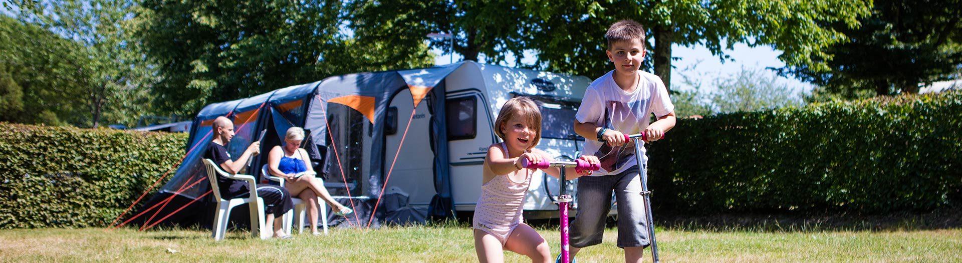 emplacements de camping vendée