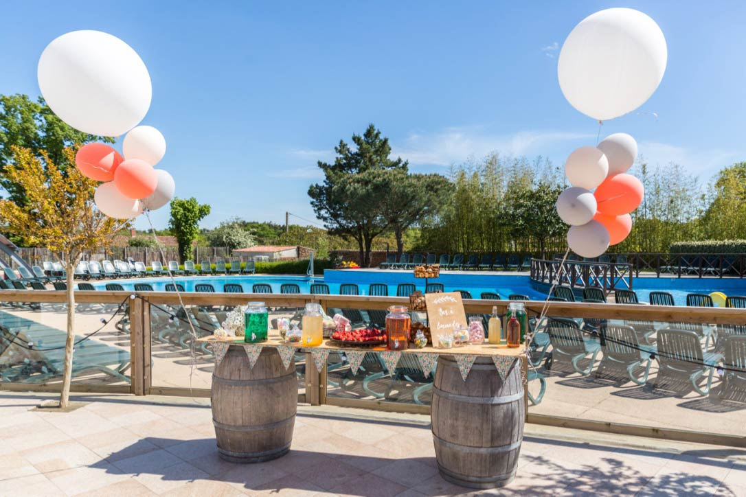 anniversaire au camping - accueil groupes