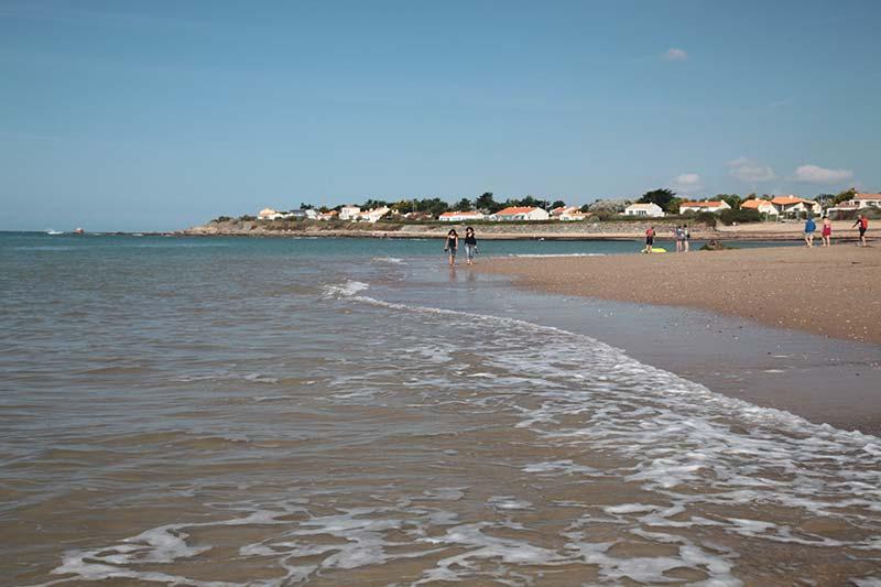 une plage en Vendée