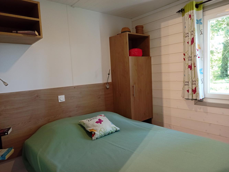 chalet classique chambre camping 5 étoiles Vendée La Garangeoire